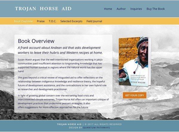 Trojan Horse Aid Website